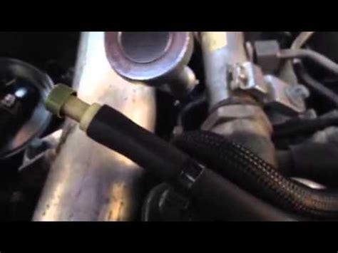 jeep grand cherokee  glow plug removal youtube