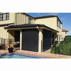 Store électrique Terrasse : store vertical enrouleur ext rieur pour terrasse ou balcon ~ Premium-room.com Idées de Décoration