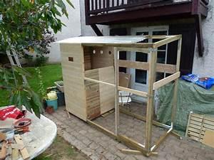 Fabrication D Une Voliere Exterieur : construction de voli re en cours besoin de vos avis ~ Premium-room.com Idées de Décoration