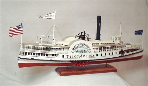 Steam Boat Model by Investing In The Model Steamboat Of The 19th Century A