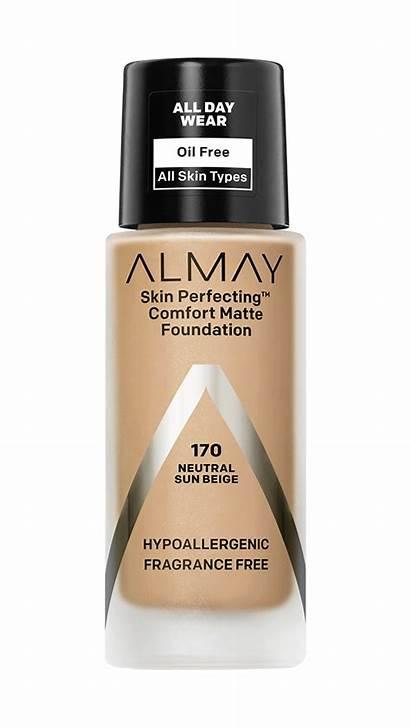 Almay Foundation Comfort Matte Perfecting Skin Face