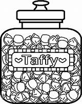 Candy Coloring Pages Canopic Jars Template Coloringbookfun sketch template