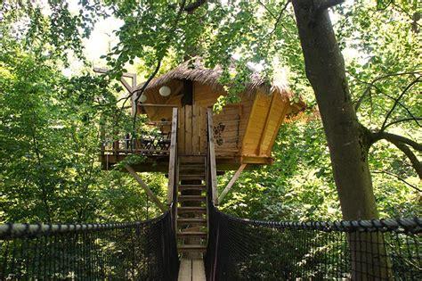 enigme chambre hotel sur un arbre perché cabane dans les arbres au château