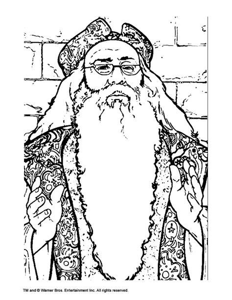 albus dumbledore coloring pages hellokidscom