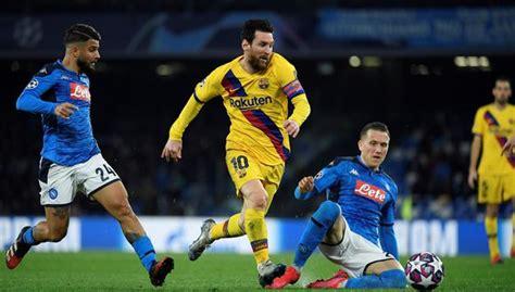 HOY EN VIVO Barcelona vs. Napoli vía ESPN 2 - Fútbol Viral