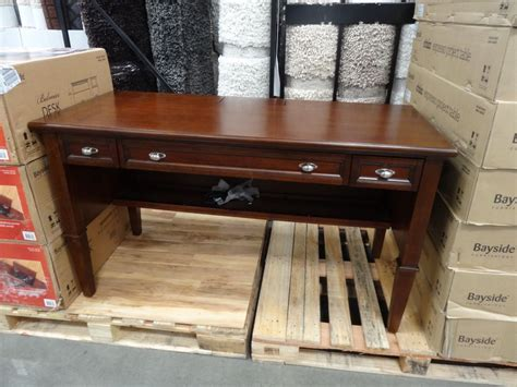bayside furnishings 60 writing desk costco writing desk luxury bayside furnishings belmar