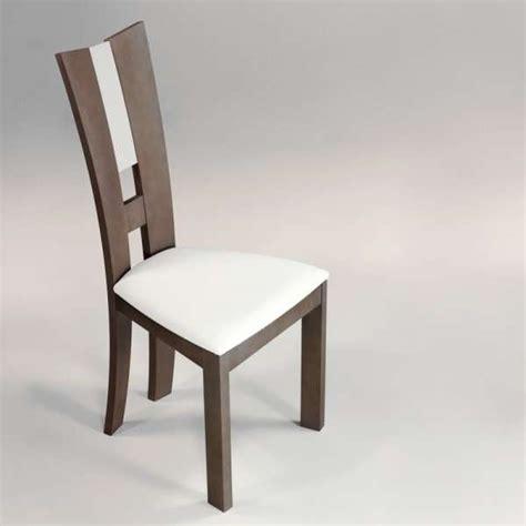 cuisine rustique et moderne chaise de salle à manger contemporaine en synthétique et