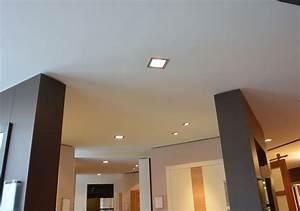 Faux Plafonds Avec Spots Intgrs Menuiserie Weber