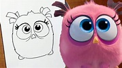 How to draw PETUNIA ANGRY BIRDS MOVIE - YouTube