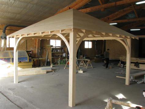 bureau des permis pergola carré 3m x 3m en bois en kit sans permis de construire