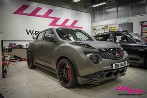 Impul Nissan Juke Wrapped In Matte Charcoal Metallic