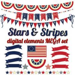 4th July Bunting Banner Clip Art