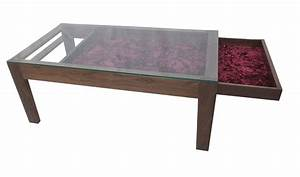 Coffee tables ideas glass display coffee table design for Coffee table with storage and glass top