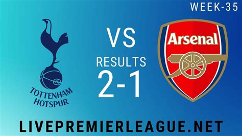Tottenham Hotspur Vs Arsenal | Week 35 Result 2020