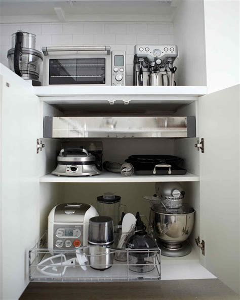 golden rules  kitchen organization martha stewart