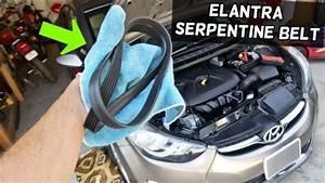 2008 Hyundai Elantra Serpentine Belt Diagram