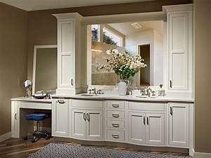 Luxury Vanity With Frosty White Paint