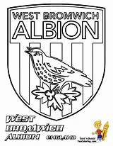 Football Colouring Coloring Soccer Bromwich League Premier Albion Template Printable Fifa Explosive Boys Ham Yescoloring United Templates Uefa sketch template