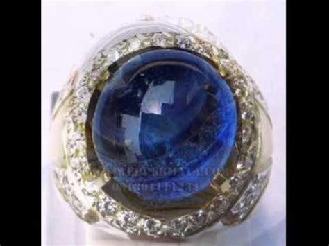 Blue Safir Ster batu blue sapphire asli
