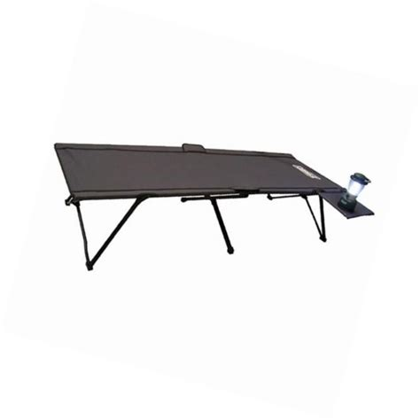 coleman pack away cot with side table coleman personal 24 for sale classifieds