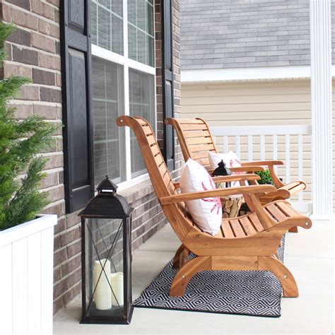 front porch chairs front porch makeover how to nest for less