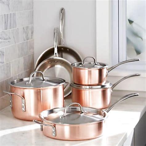 copper cookware crateandbarrel