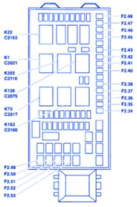 ford   fuse boxblock circuit breaker diagram