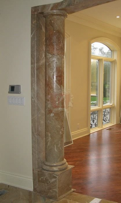 italian Marble doric Columns in new york and chicago