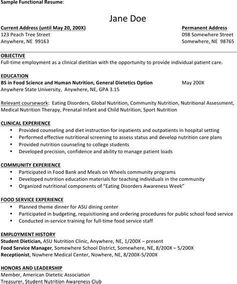 dietitian resume templates free premium