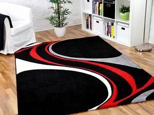 Teppich Rot Schwarz : teppich schwarz rot online bestellen bei yatego ~ Eleganceandgraceweddings.com Haus und Dekorationen