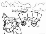 Wagon Coloring Trail Covered Oregon Pages Train Drawing Trains Printable Days Conestoga Getcolorings Adult Camera Deviantart Getdrawings Toy sketch template
