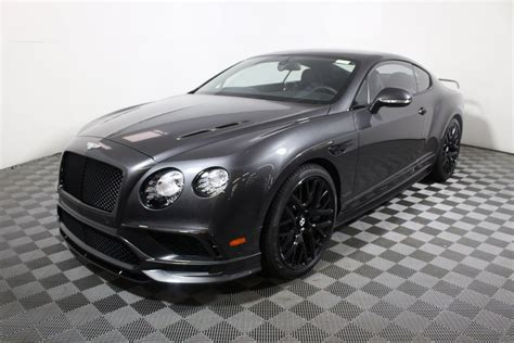 New 2017 Bentley Continental Gt Supersports Coupe Coupe In