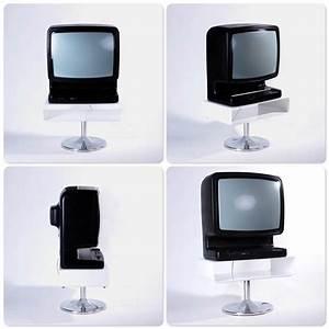 Designer Tv Tisch : lounge design tv tisch metall fernseh 70er style retro cube rack m bel weiss ebay ~ Markanthonyermac.com Haus und Dekorationen