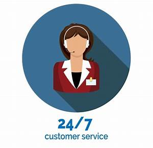 customer service flat icon ~ Icons on Creative Market