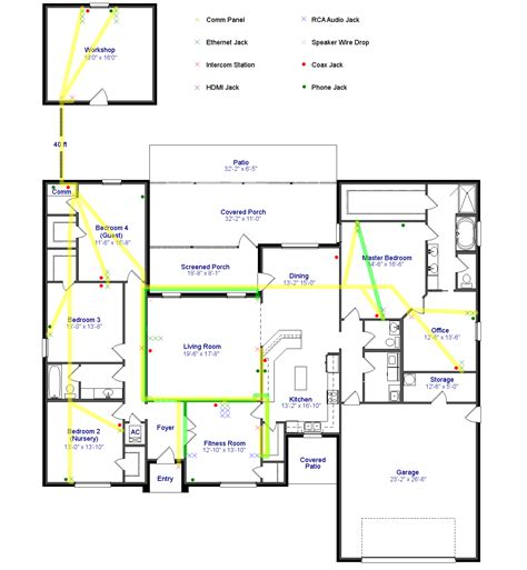 how to wire a room in house electrical online 4u standard house wiring diagrams standard get free image