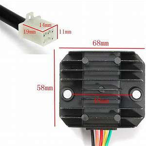 12v 5 Wires Regulator Rectifier For 50cc 125cc Chinese Atv