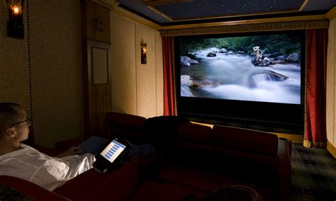build  projector screen  home carls place