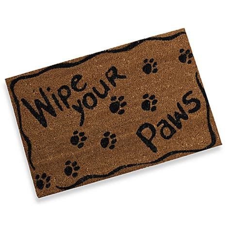 Pet Doormats by Wipe Your Paws Door Mat Bed Bath Beyond