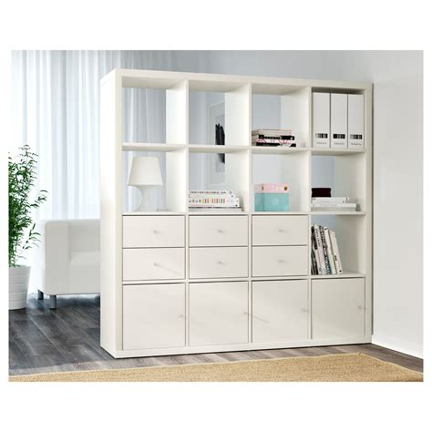 ikea bureau etagere kallax shelving unit white 147x147 cm ikea
