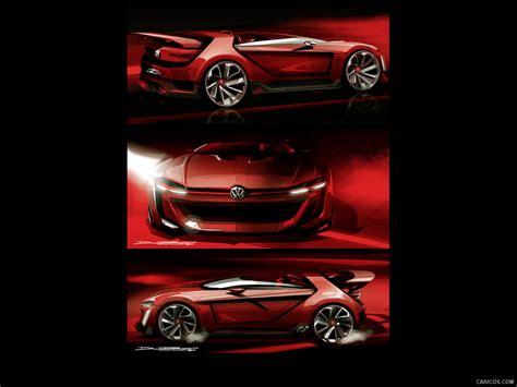 2018 Volkswagen Gti Roadster Concept Design Sketch