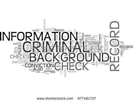 What Shows Up On A Criminal Background Check Non Criminal Stock Images Royalty Free Images Vectors