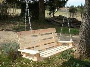 les 25 meilleures idees concernant balancoires de palettes With idee pour jardin exterieur 3 les palettes reinventent le mobilier de jardin