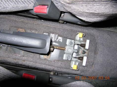 on board diagnostic system 1999 honda passport parking system how to adjust handbrake on a 2000 honda passport repair guides parking brake parking brake