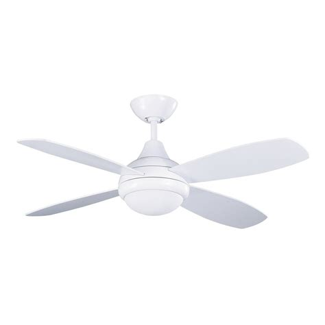 42 white ceiling fan with light shop kendal lighting aviator 42 in white downrod mount