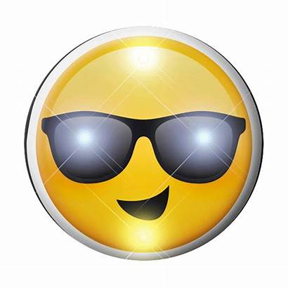 Emoji Cool Dude Sunny Sunglasses Smiling Days