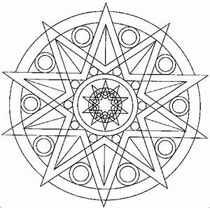 Coloriage Mandala 8