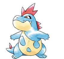 croconaw heartgold soulsilver pokedex azurilland