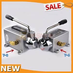 New Y 6  Y 8 Manual Handle Lubrication System Oil Pump Hand