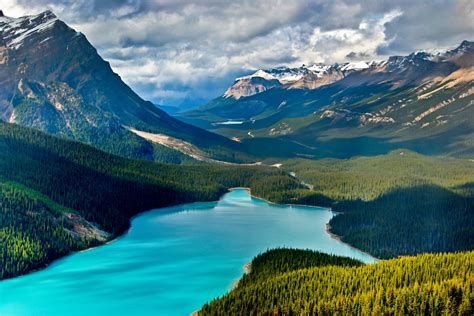 Peyto Lake, Canada | Most Beautiful Places in the World