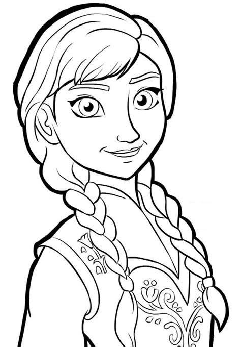 walt disney coloring pages queen elsa princess anna walt